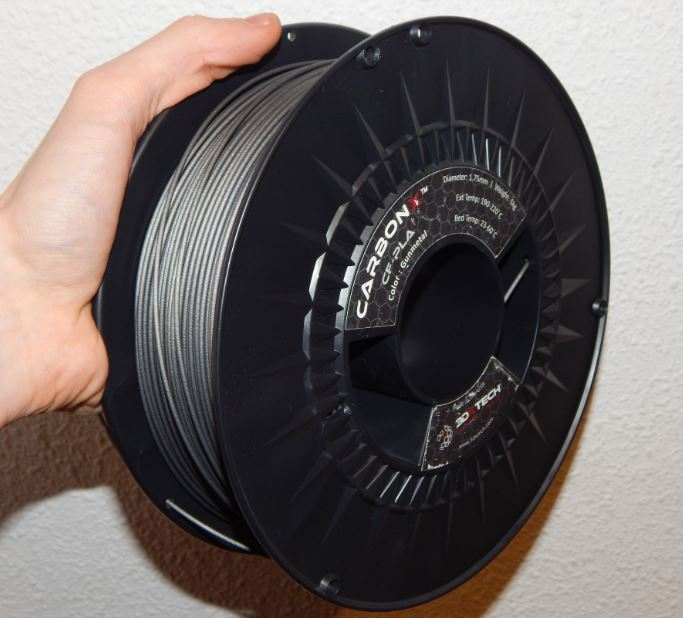 The reel of CarbonX PLA