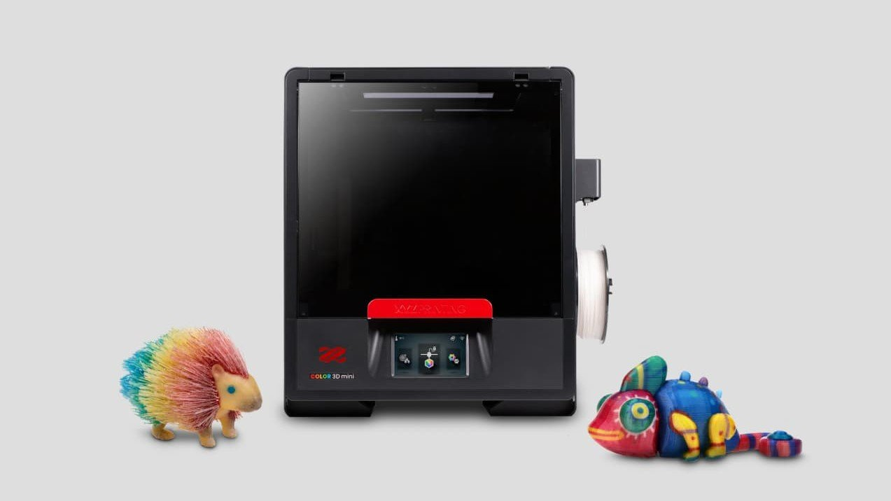 Featured image of At CES, XYZPrinting Debut the Da Vinci Color Mini 3D Printer, Add More Filaments
