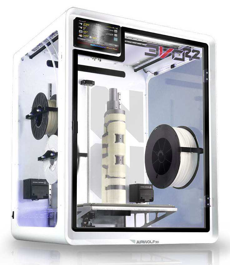 Image of Large 3D Printer (Large-Format / Large-Scale / Large-Volume): Airwolf EVO 22