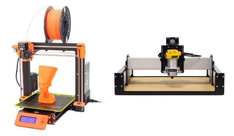 Both the Prusa i3 MK3 and the Shapeoko are CNC machines.