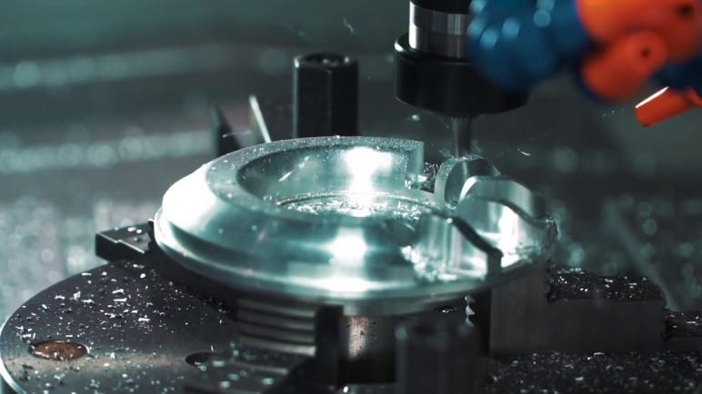 Cutting steel.