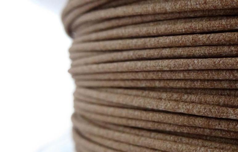 Coconut wood filament.