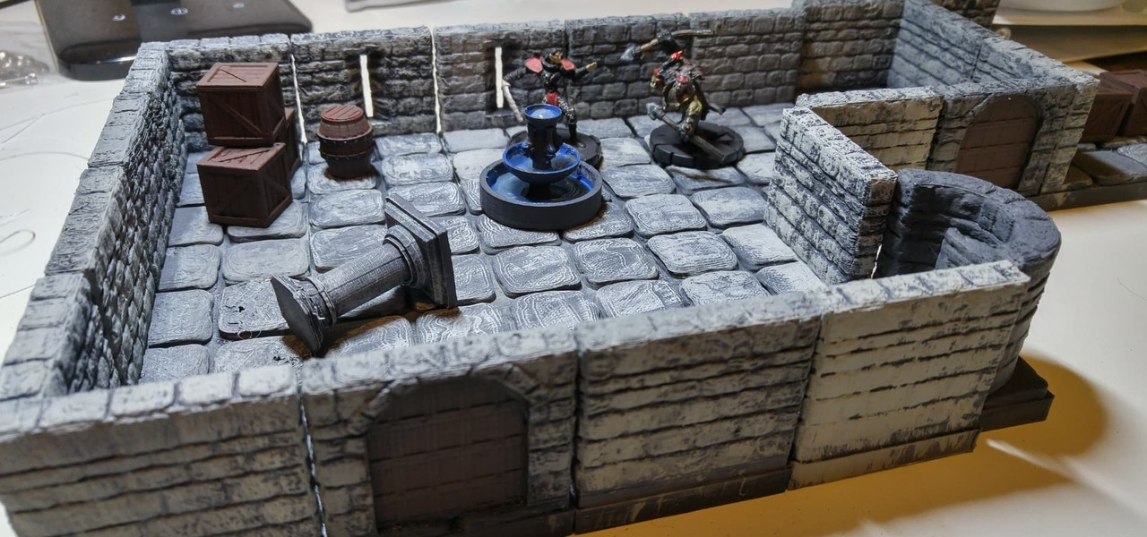 D&D – 3D Print Your Own Dungeons Dragons Pieces
