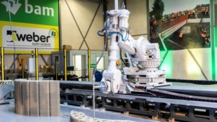 Featured image of Europe's First 3D Concrete Printing Facility Opens in Eindhoven