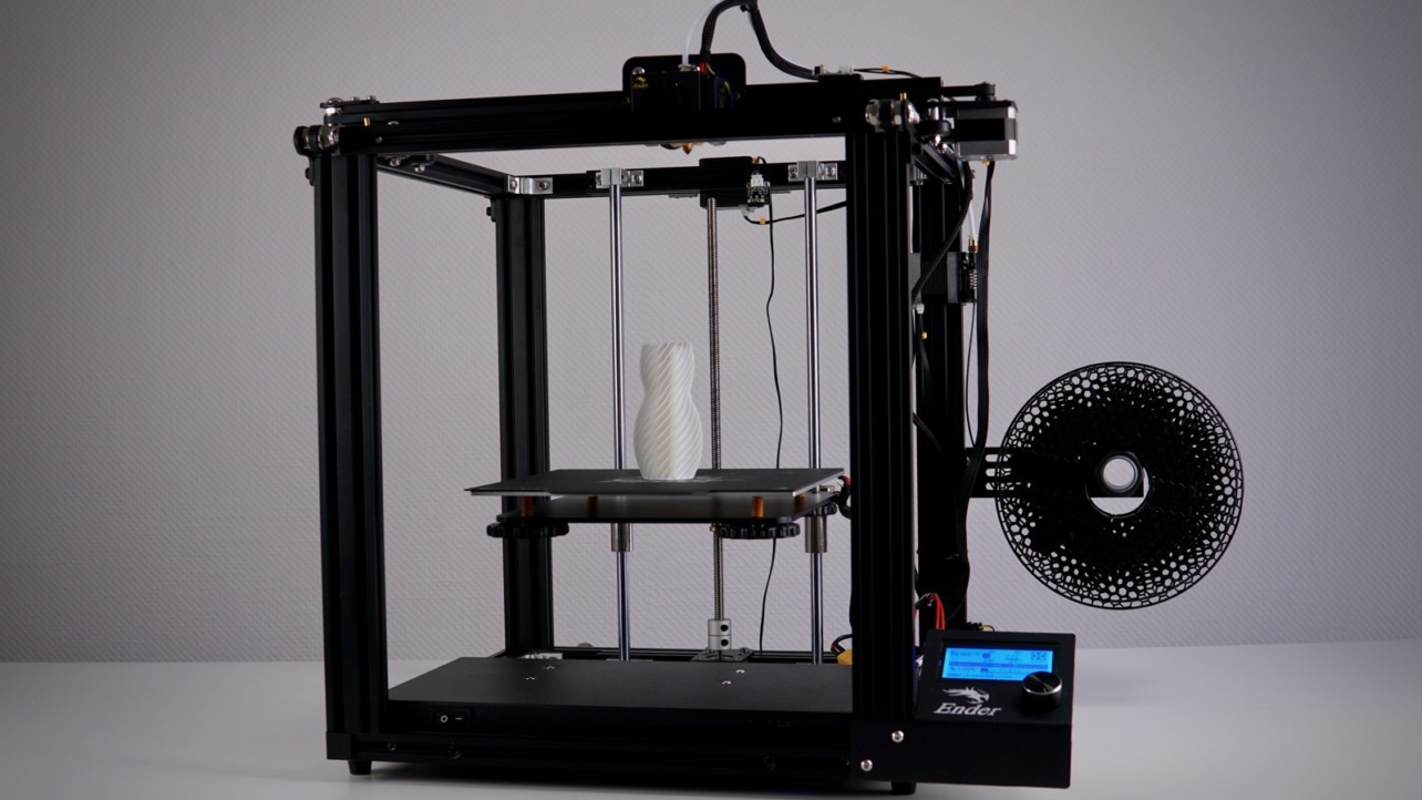 Featured image of 2019 Creality Ender-5 Review – The Best Ender 3D Printer