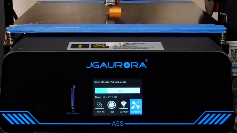 Image of JGAurora A5S – Review the Specs of This 3D Printer: Features