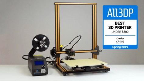 Featured image of 2019 Creality CR-10 Review – Best 3D Printer Under $500