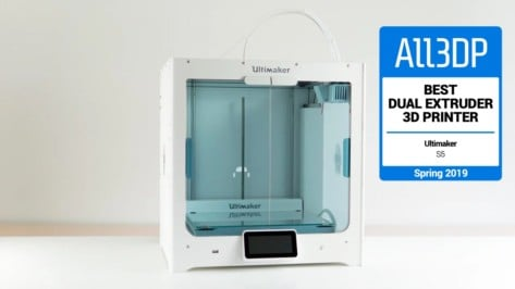 Featured image of 2019 Ultimaker S5 Review – Best Dual Extruder 3D Printer