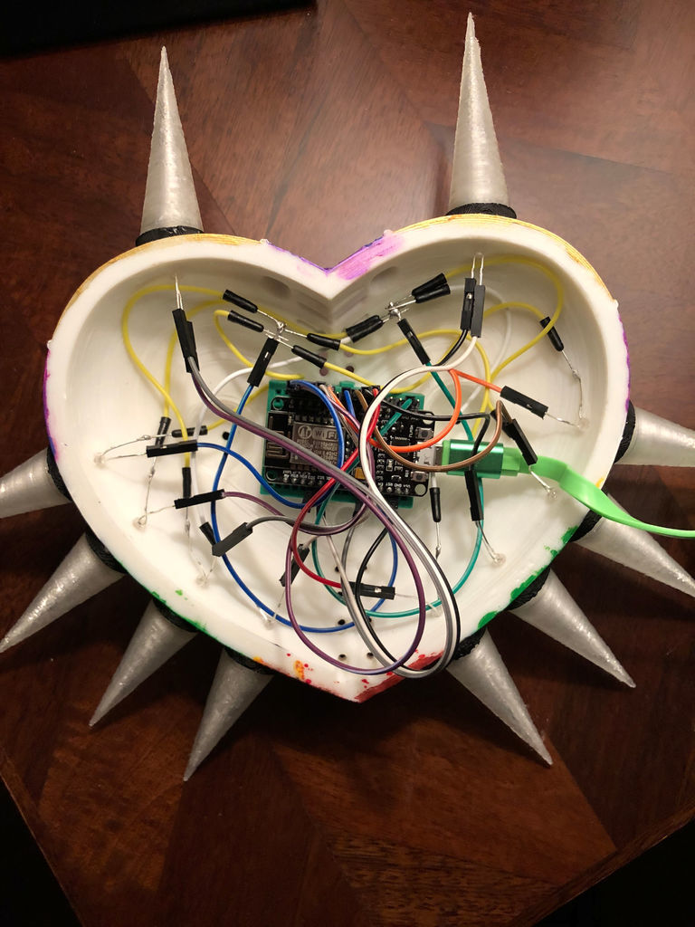 Coding and Wiring the Majora's Mask