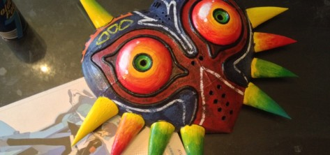 Featured image of Weekend Project – LED-Powered Majora's Mask Replica From Legend of Zelda