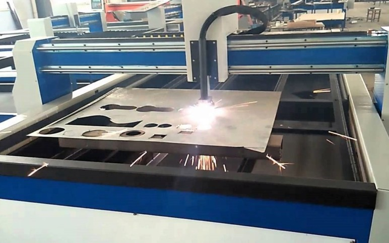 CNC plasma cutters require a great deal of space.