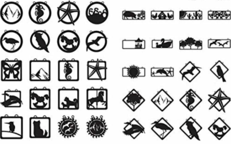 DXF artwork.