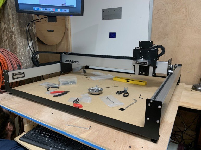 Image of Shapeoko 3 XXL Review: Assembly