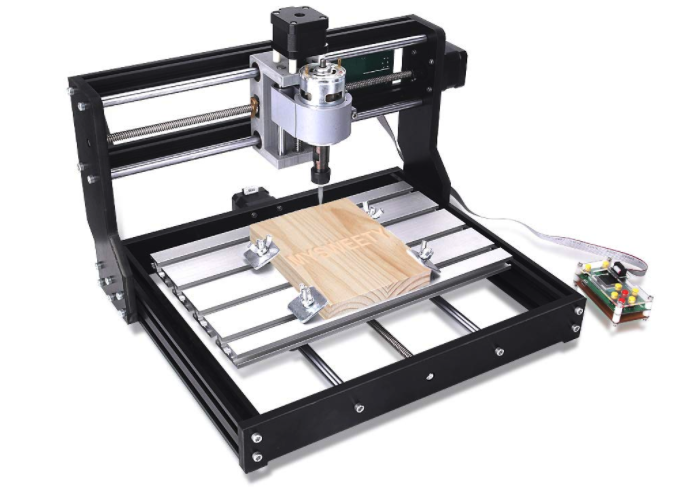 Image of Best Desktop CNC Routers & DIY CNC Router Kits: MYSWEETY CNC 3018-PRO
