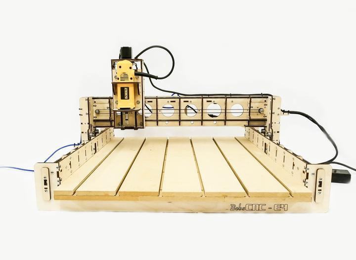 Imagen de Fresadora CNC: Las mejores máquinas CNC DIY: BobsCNC E4