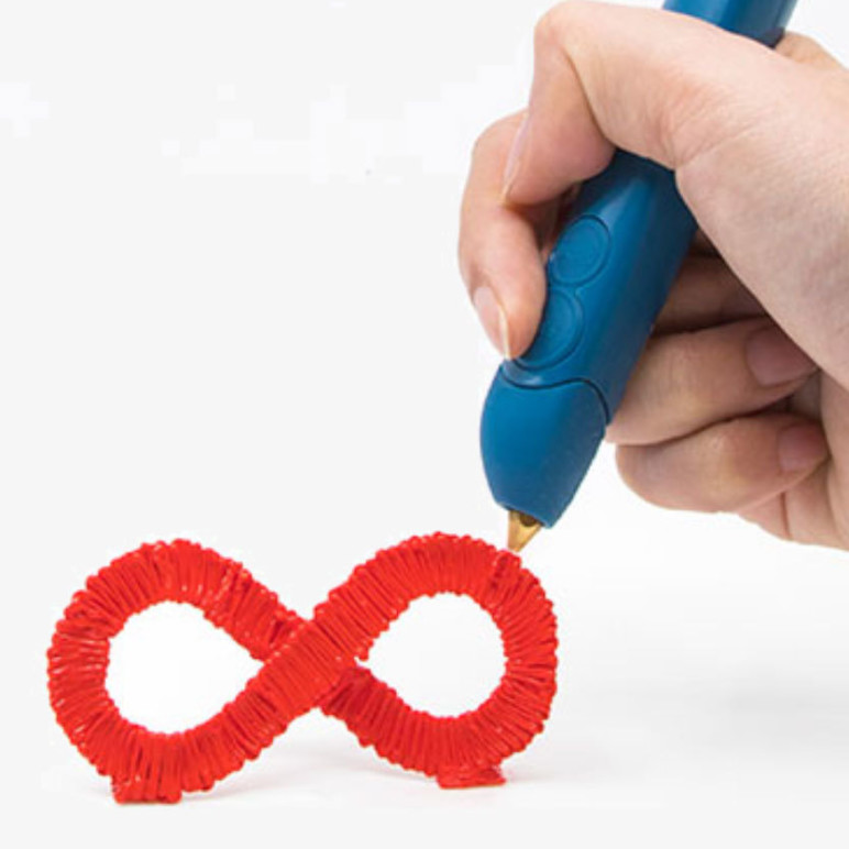 A 3D pen in action!