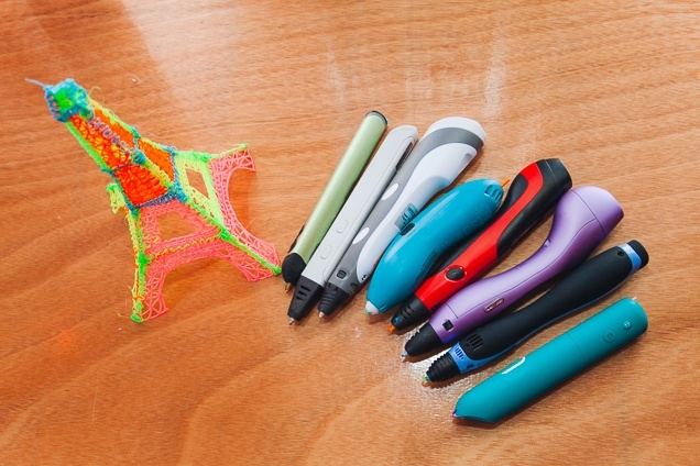 Even a standard pen can realize a colorful imagination.