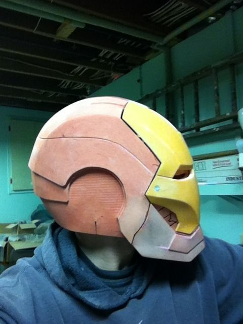 The Iron Man helmet.