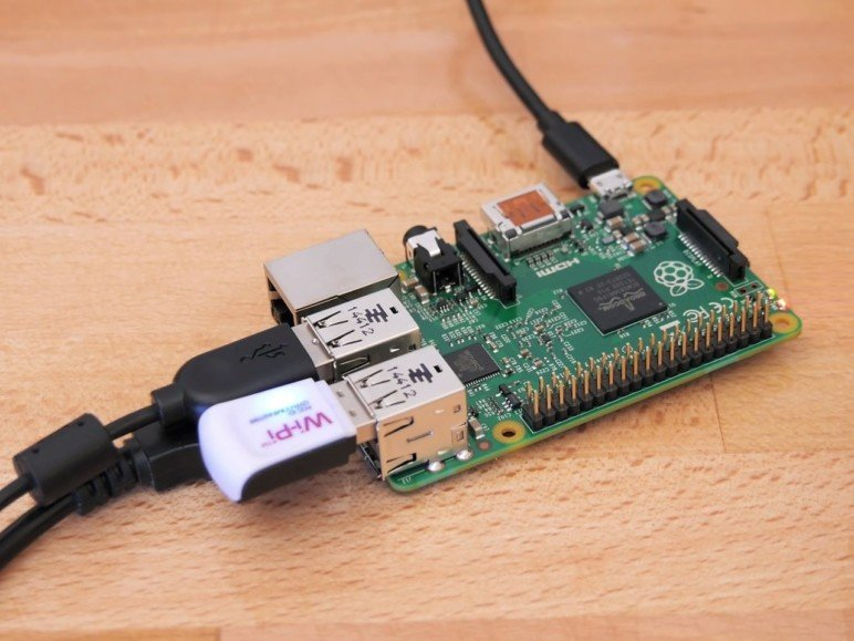 The famous Raspberry Pi.