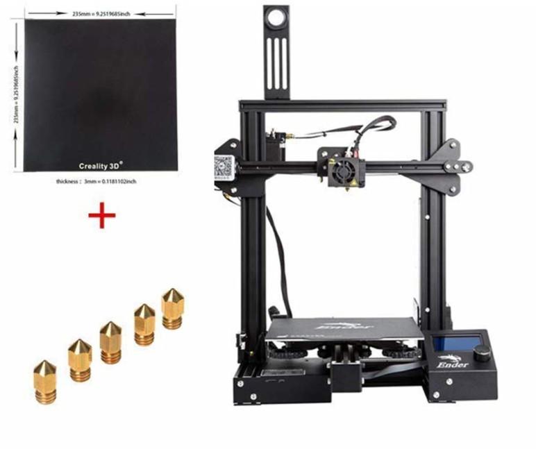 Image of Creality Ender-3X : les points-clés de l'imprimante 3D: Caractéristiques