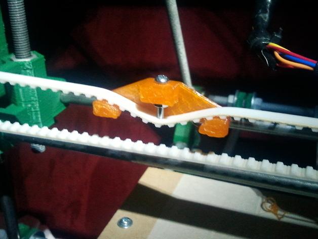The printed belt tensioner.