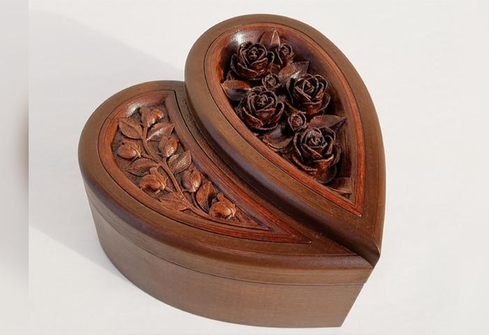 Image of Objets 3D utiles à imprimer en 3D: Boîte à bijoux avec rangements