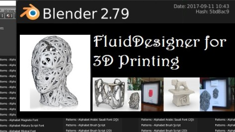 Featured image of FluidDesigner is a Blender Application Template for Simplifying Complex 3D Designs