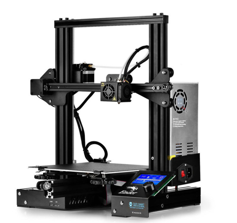 The Creality Ender 3, one of the most popular printers on the market, sells for less than $200.