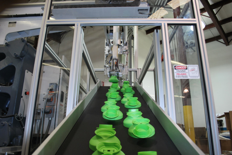 Injection molding is great for large-scale production.