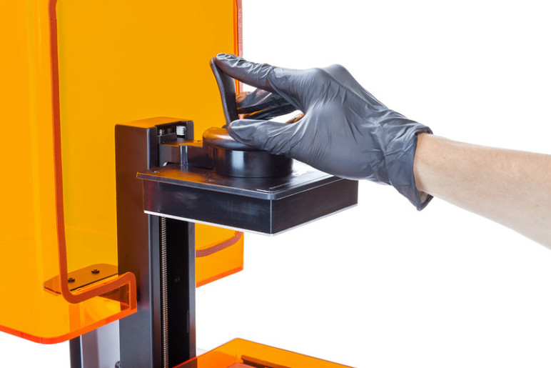 Safety precautions are necessary for handling SLA resins.