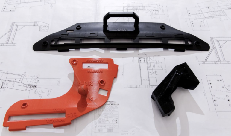 Jigs and fixtures used in the production of the new Ford Focus