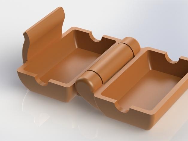 Un ejemplo de un filtro de polvo impreso en 3D.