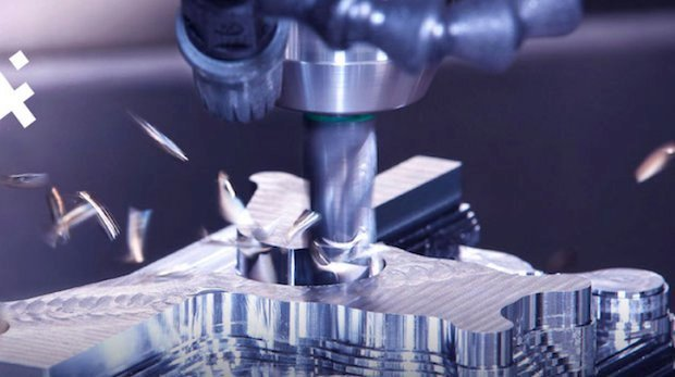Manufacturing by subtractive machining.