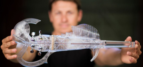 Featured image of 3D Printed Violin – 6 Most Amazing Projects in 2019