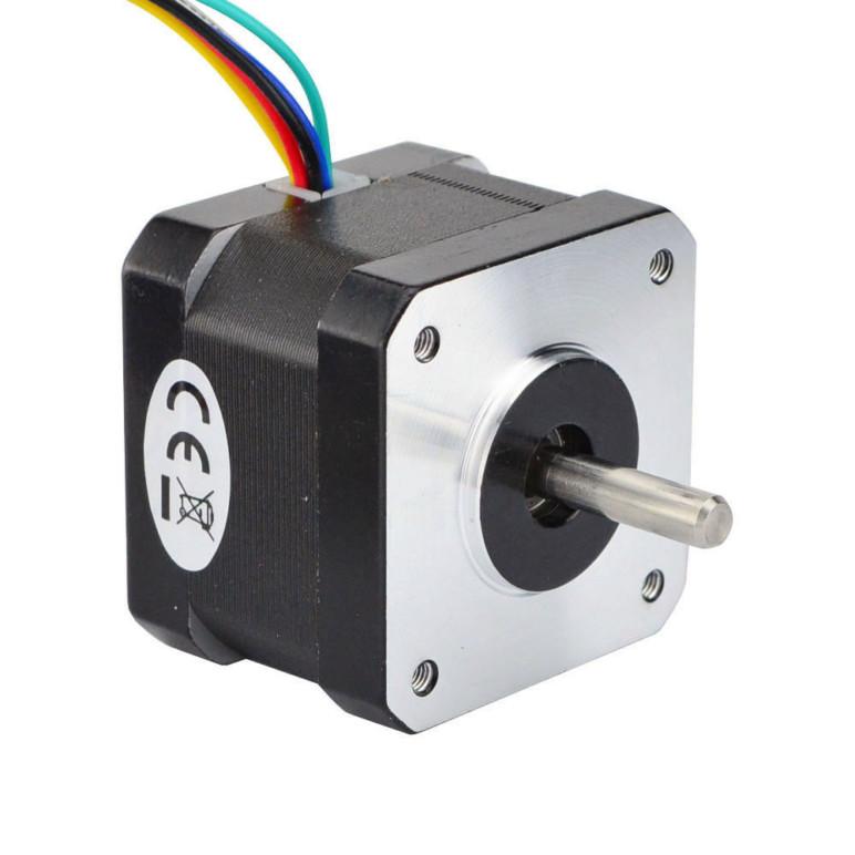 Image of Best Arduino Stepper Motors: Nema-17 Unipolar Stepper Motor