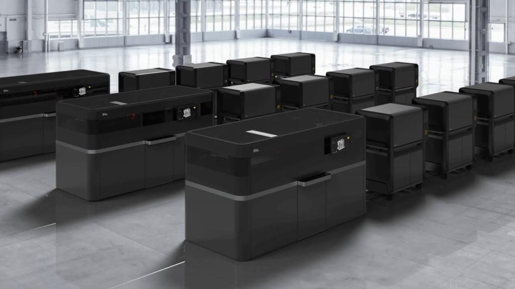The Desktop Metal Production System.