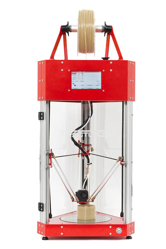 Image of PEEK 3D Printer Guide: TRACTUS3D T650P