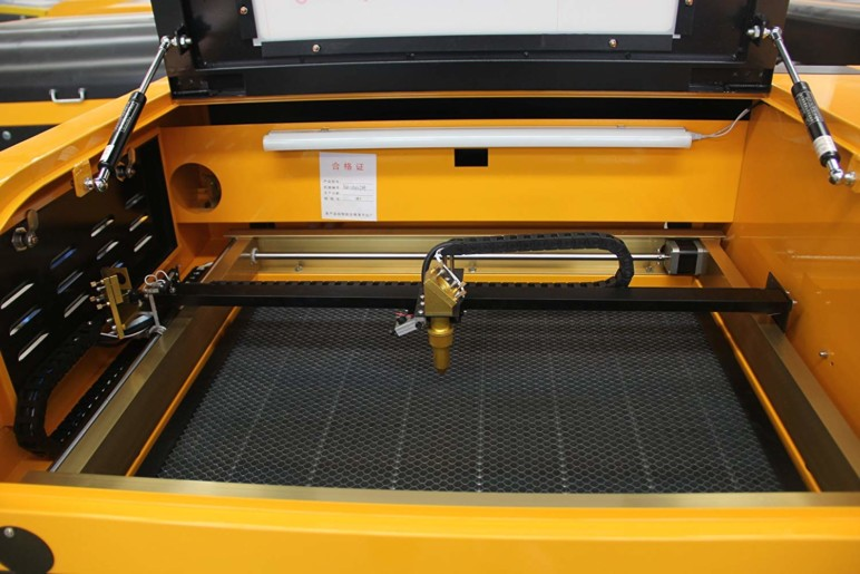 Image of TEN-HIGH 60W Laser Cutter/Engraver – Review the Specs: Features