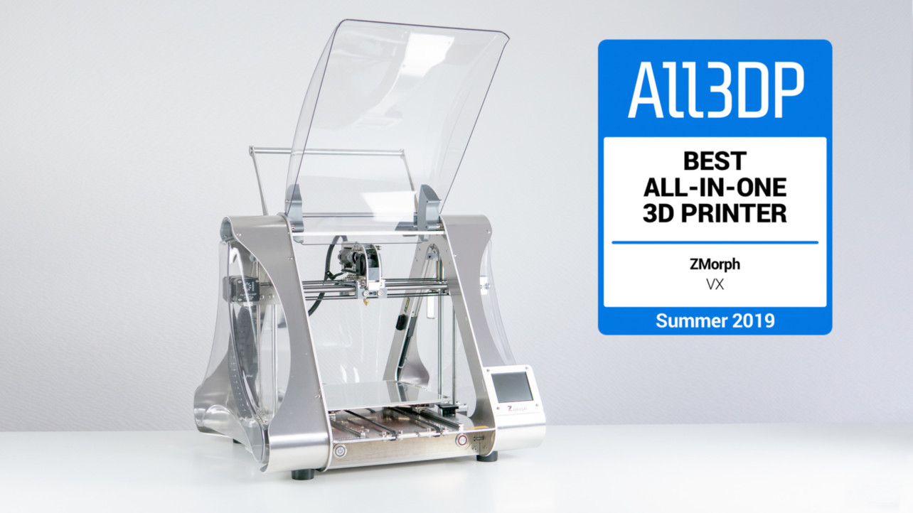 Featured image of 2019 ZMorph VX Review – Best All-in-One 3D Printer