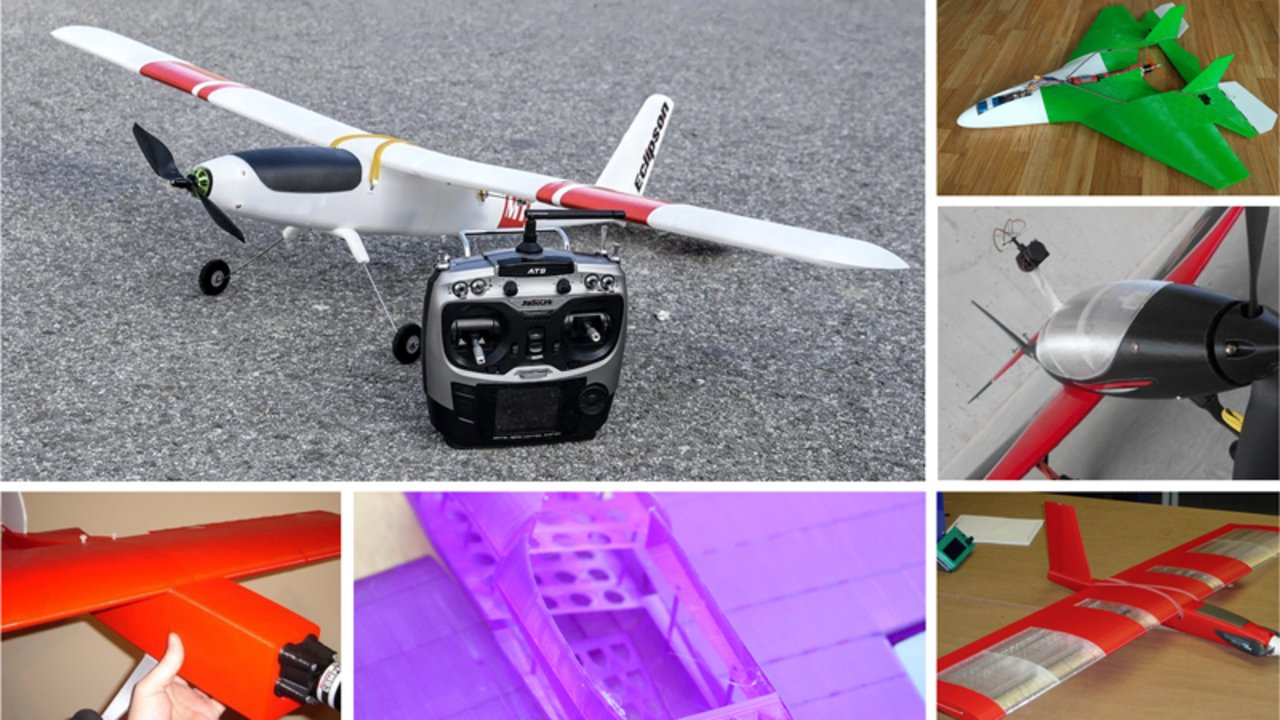 3D Printed RC Plane: 10 Great Curated 3D Models | All3DP