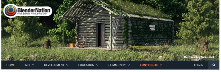 Blender Nation offers more services beyond just hosting model downloads.