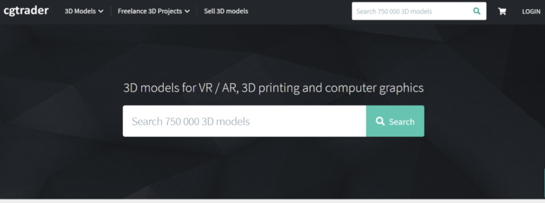 CGTrader has both free and paid models and you need to create an account to download the model files.