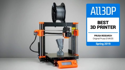 Featured image of Original Prusa i3 MK3S Review – The Best 3D Printer in 2019