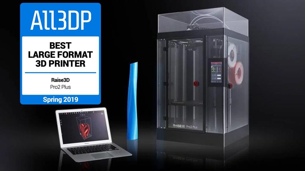 Featured image of Raise3D Pro2 Plus: meilleure imprimante 3D grand format 2019