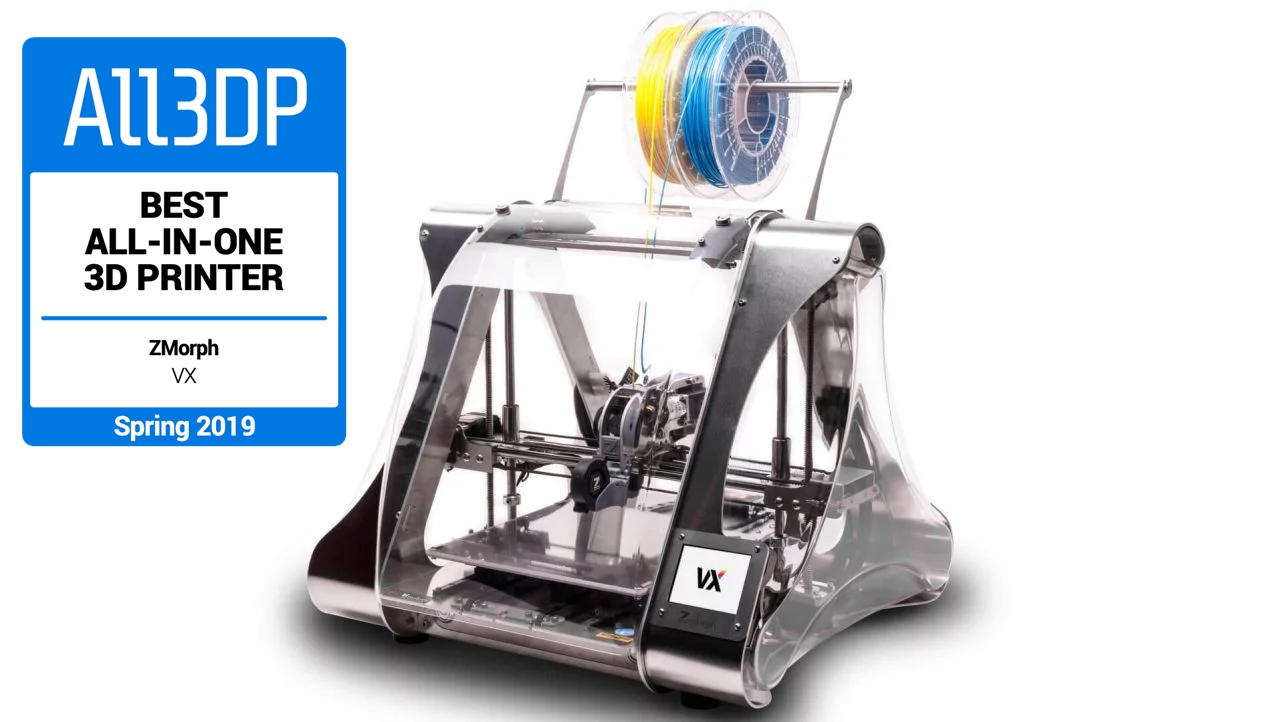Featured image of 2019 ZMorph VX – Review the Specs of this Multitool 3D Printer