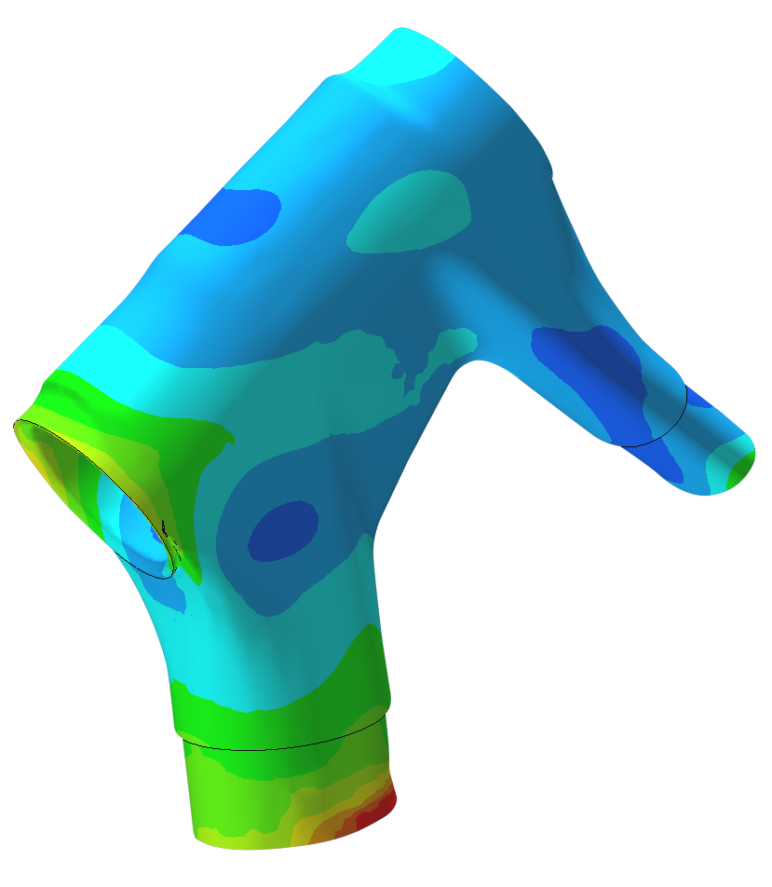 Predicting the distortion of an additive part.