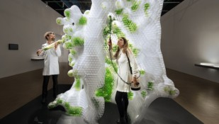 Featured image of Explore World's First 3D Printed Bio-Reactor at Centre Pompidou