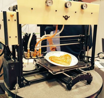 Cheesy printer perfection.