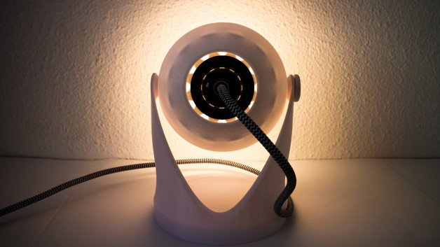 [Project] 3D Print an IKEA-like Minimal Bedside Lamp | All3DP