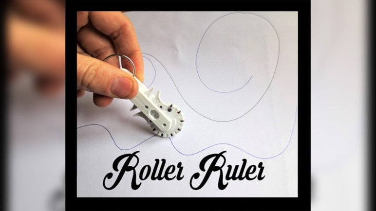 Image of Cool Things to 3D Print: Geneva Roller Ruler